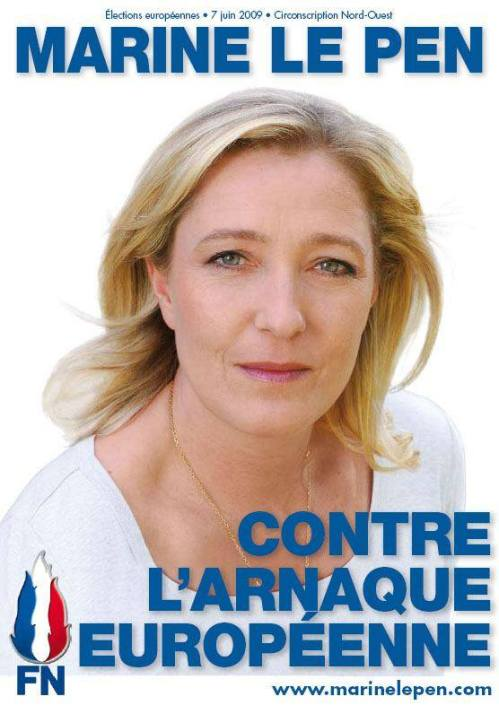 Autocollant Front National